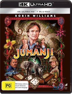 Jumanji (4K Ultra HD + Blu-ray) [UHD]