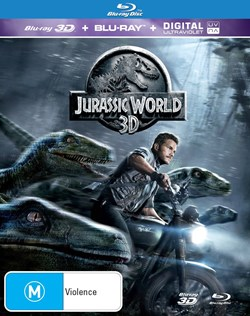 Jurassic World (3D Edition with 2D Edition + Digital Download) [Blu-ray]