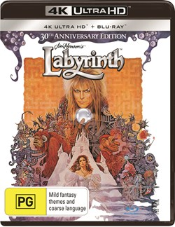 Labyrinth (4K Ultra HD + Blu-ray + Digital Download) [UHD]