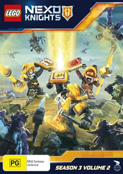 LEGO Nexo Knights: Season 3 - Volume 2 [DVD]