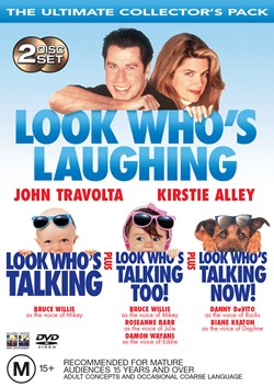 Look Who's Talking/Look Who's Talking Too/Look Who's Talking Now! [DVD]