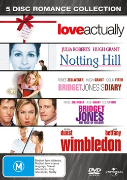 Love Actually/Notting Hill/Bridget Jones's Diary/Bridget Jones - [DVD]