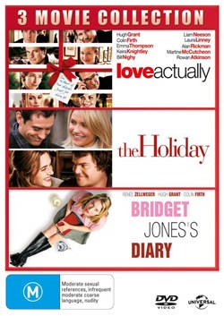 Love Actually/The Holiday/Bridget Jones's Diary [DVD]