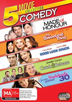 Made of Honour/The Sweetest Thing/Good Luck Chuck/... [DVD]
