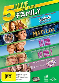 Matilda/My Girl/My Girl 2/Judy Moody and the Not Bummer Summer/Am [DVD]