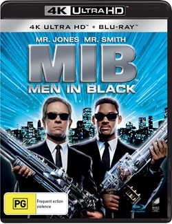 Men in Black (4K Ultra HD + Blu-ray) [UHD]