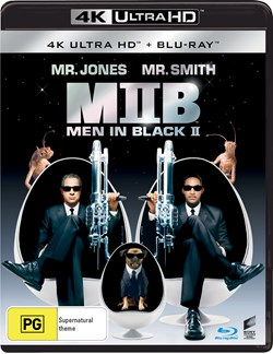 Men in Black 2 (4K Ultra HD + Blu-ray) [UHD]