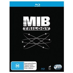 Men in Black/Men in Black 2/Men in Black 3 [Blu-ray]