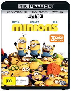 Minions (4K Ultra HD + Blu-ray + Digital UV Copy) [Blu-ray]