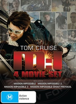 Mission Impossible 1-4 [DVD]