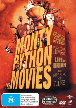 Monty Python - The Movies [DVD]