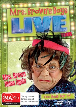 Mrs Brown Rides Again - Live Tour [DVD]