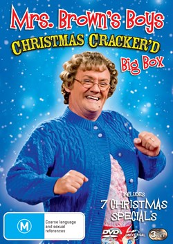 Mrs Brown's Boys: Christmas Cracker'd [DVD]