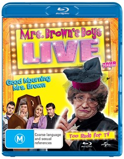 Mrs Brown's Boys: Good Mourning Mrs Brown - Live Tour [Blu-ray]