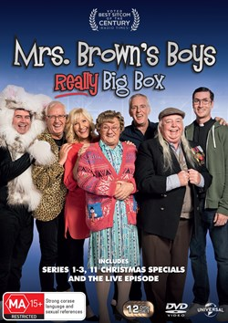 Mrs Brown's Boys: Really Big Box [DVD]