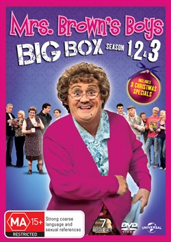 Mrs Brown's Boys: Series 1-3 [DVD]