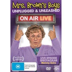 Mrs Brown's Boys: Unplugged and Unleashed - On Air Live [DVD]
