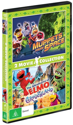 Muppets from Space/The Adventures of Elmo in Grouchland [DVD]