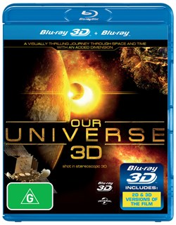 Our Universe 3D (3D Edition) [Blu-ray]