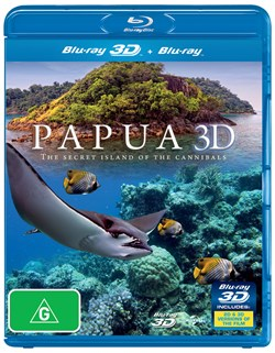 Papua 3D: The Secret Island of the Cannibals (3D Edition) [Blu-ray]