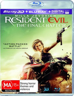 Resident Evil: The Final Chapter (3D Edition with 2D Edition) [Blu-ray]