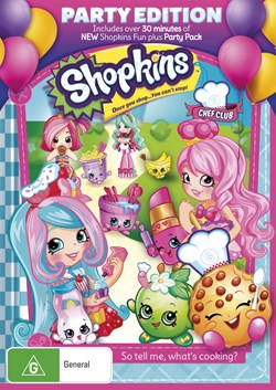 Shopkins Chef Club: Party Edition [DVD]
