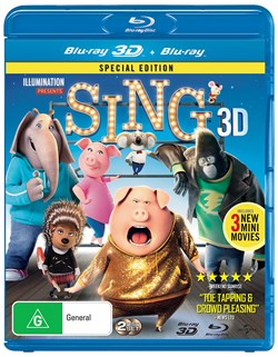 Sing (3D Edition with 2D Edition) [Blu-ray]