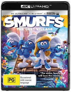 Smurfs - The Lost Village (4K Ultra HD + Blu-ray + Digital Download) [UHD]