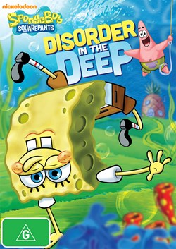 SpongeBob Squarepants: Disorder in the Deep [DVD]