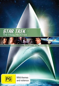 Star Trek 5 - The Final Frontier [DVD]