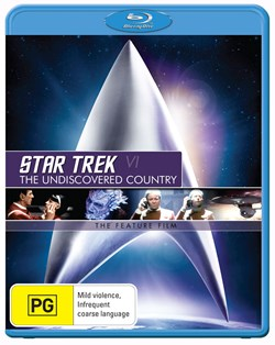 Star Trek 6 - The Undiscovered Country [Blu-ray]