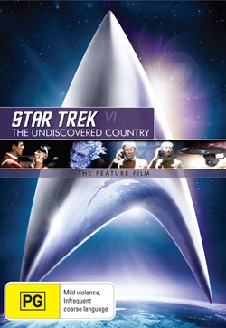 Star Trek 6 - The Undiscovered Country [DVD]
