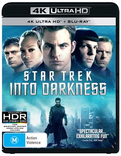 Star Trek Into Darkness (4K Ultra HD + Blu-ray) [UHD]