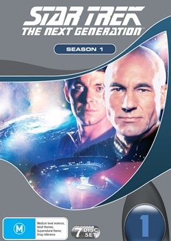 Star Trek the Next Generation: The Complete Season 1 [DVD]