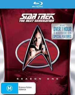 Star Trek the Next Generation: The Complete Season 1 [Blu-ray]