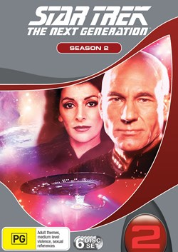 Star Trek the Next Generation: The Complete Season 2 (Box Set) [DVD]
