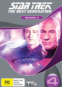 Star Trek the Next Generation: The Complete Season 4 (Box Set) [DVD]