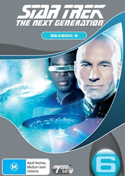Star Trek the Next Generation: The Complete Season 6 (Box Set) [DVD]