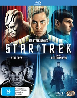 3 MOVIE FRANCHISE PACK: (STAR TREK 2009 / STAR TREK INTO DARKNESS / STAR TREK BEYOND) - 3 DISC - BD