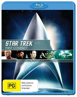 Star Trek 8 - First Contact [Blu-ray]