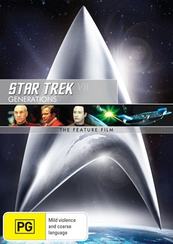 Star Trek 7 - Generations [DVD]