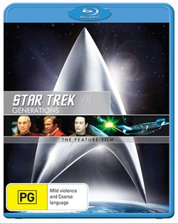Star Trek 7 - Generations [Blu-ray]