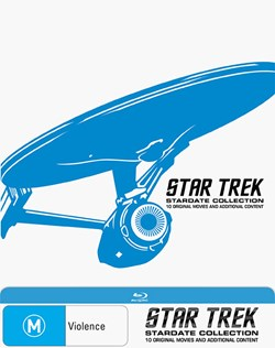 Star Trek: The Movies 1-10 [Blu-ray]
