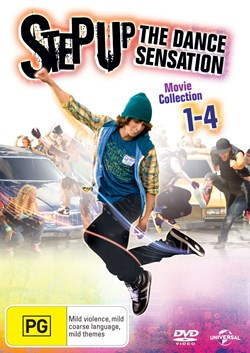 Step Up 1-4 [DVD]
