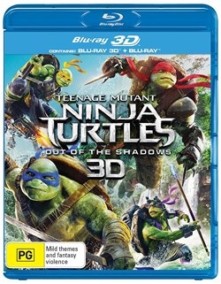 Teenage Mutant Ninja Turtles: Out of the Shadows (3D Edition) [Blu-ray]