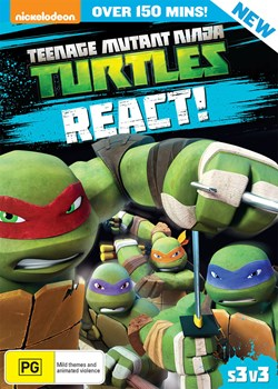 Teenage Mutant Ninja Turtles: React! - Season 3 Volume 3 [DVD]