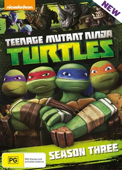 Teenage Mutant Ninja Turtles: Season 3 Complete Collection [DVD]