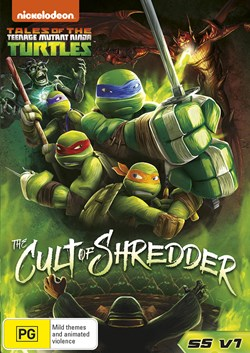 Teenage Mutant Ninja Turtles: The Cult of Shredder - Season 5... [DVD]