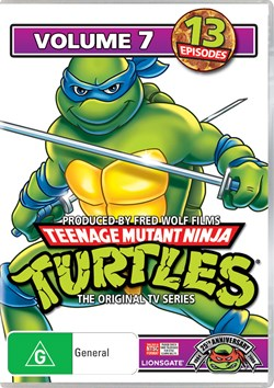 Teenage Mutant Ninja Turtles: Volume 7 [DVD]