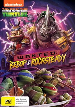 Teenage Mutant Ninja Turtles: Wanted - Bebop and Rocksteady [DVD]